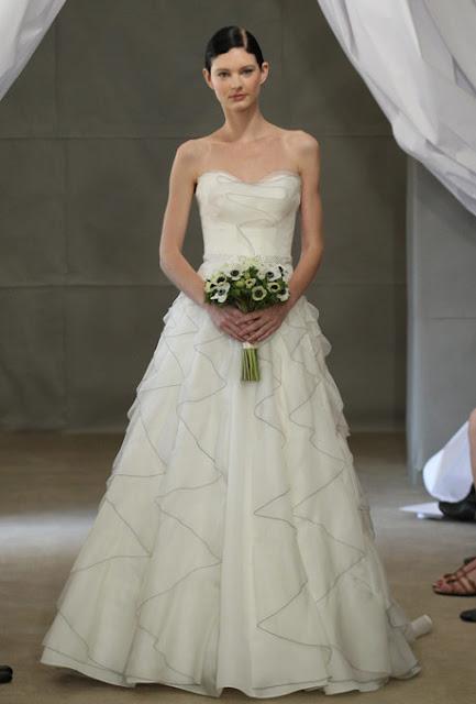 Carolina Herrera, bridal collection 2013