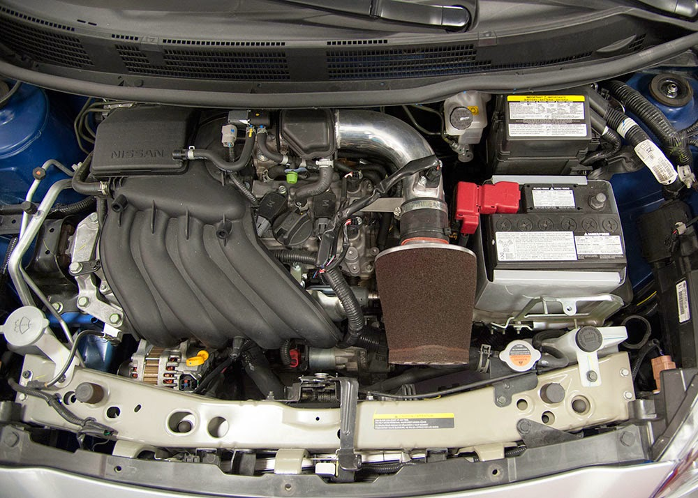 Nissan Micra Cup Car engine bay