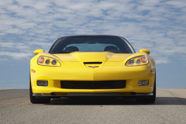 Front image of Corvette ZR1