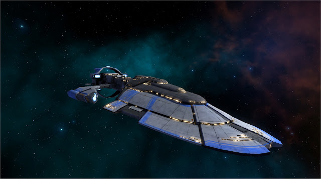Master of Orion Ship