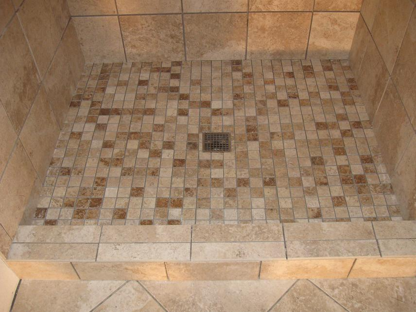 Pictures of bathroom tile designs shower pan joy studio for Tile shower floor ideas