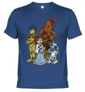 Camiseta Friki Mago de Oz Star Wars