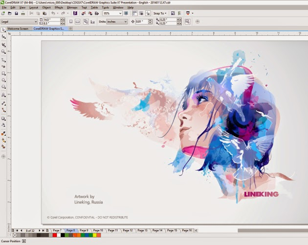 Download Corel Draw X7 Full Version | Ifan Blog