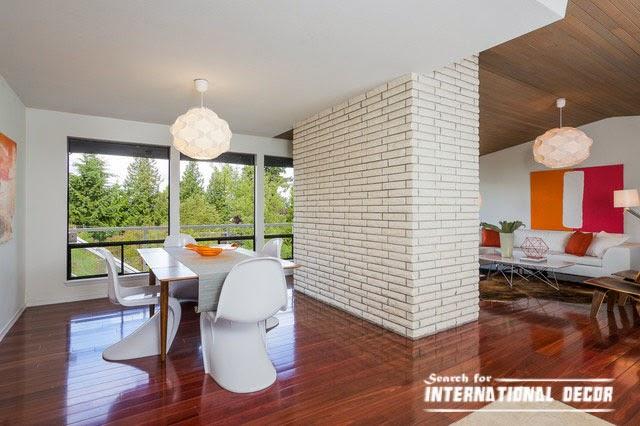 contemporary interior design, contemporary dining room