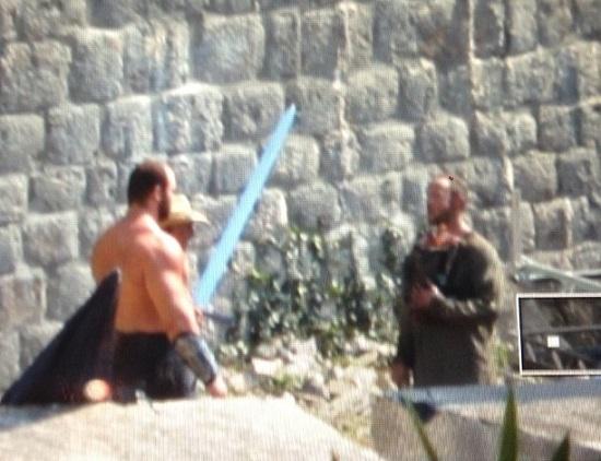juego de tronos rodaje cuarta temporada Dubrovnik Gregor Clegane 2 - Juego de Tronos en los siete reinos