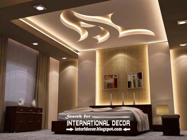 modern suspended ceiling lights for bedroom false ceiling lighting ideas
