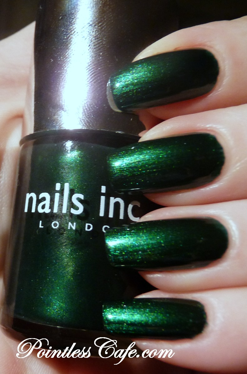 Nails Inc. Emerald Street and Bow Street - Swatches and Review ...