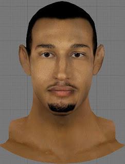 NBA 2K13 Boris Diaw  Cyberface Patch