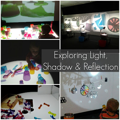 Science of light with preschoolers