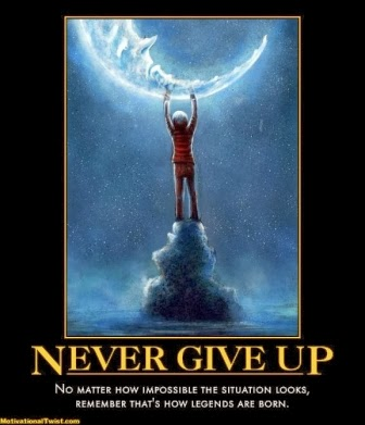 JoyZAChoice: Never, Ever Give Up