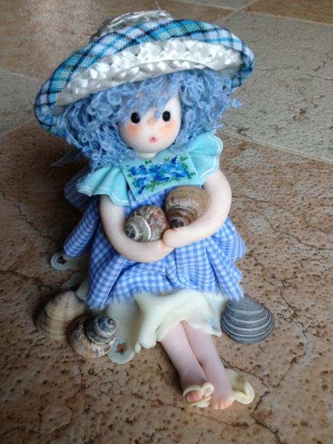 bambole in pasta di mais porcellana fredda