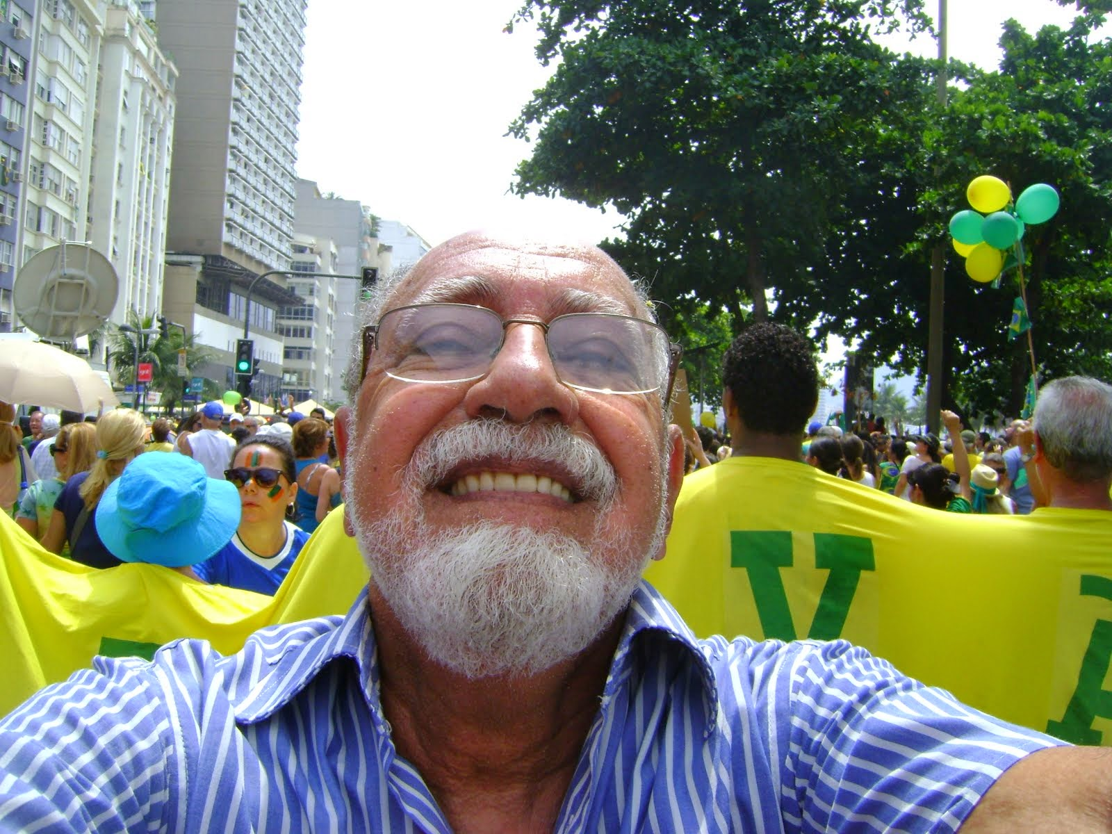 Manifestação Copacabana