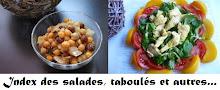 Salades, sauces, etc