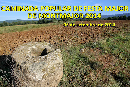 Caminada Popular de la Festa Major de Montmajor 2014