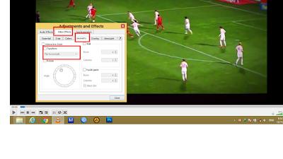 Cara Membalik (Mirror) Video dengan Vlc dan Mpc