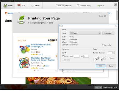 print dengan printer