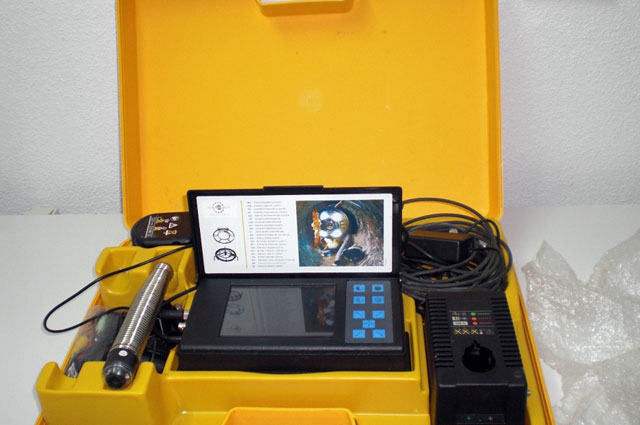 Inspección de tuberías con cámaras de TV