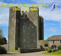 Carrigtwohill 5k in East Cork... Wed 18th July 2018