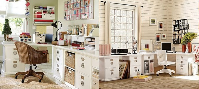 Busy And Creative Home Office Workspace Ideas