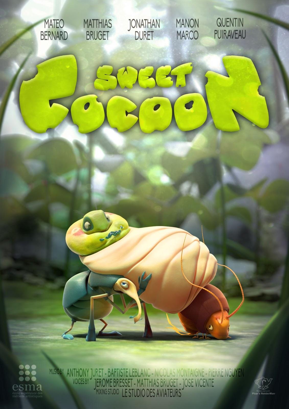 LA MEJOR ANIMACIÓN: Sweet Cocoon de M. Bernard, M. Bruget, J. Duret ...