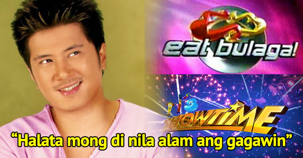 Janno Gibbs Speaks Up About Showtime And Eat Bulaga!