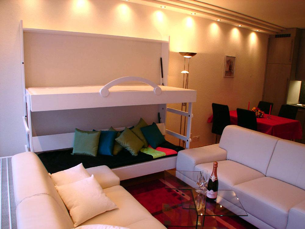 Muebles y decoraci n de interiores la cama plegable - Muebles ahorra espacio ...
