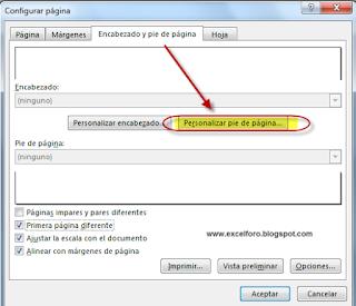 VBA: La propiedad FirstPageNumber - Numerando páginas de impresión...