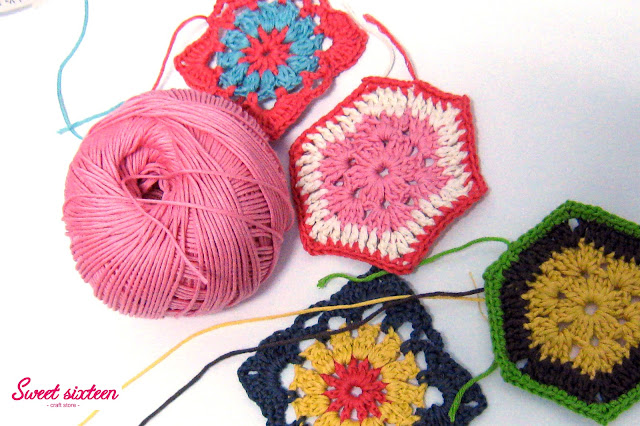 Taller Grannys de crochet, Sweet sixteen craft store. Madrid