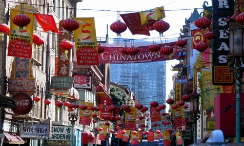 Beautiful Chinese New Year Chinatown In San Francisco