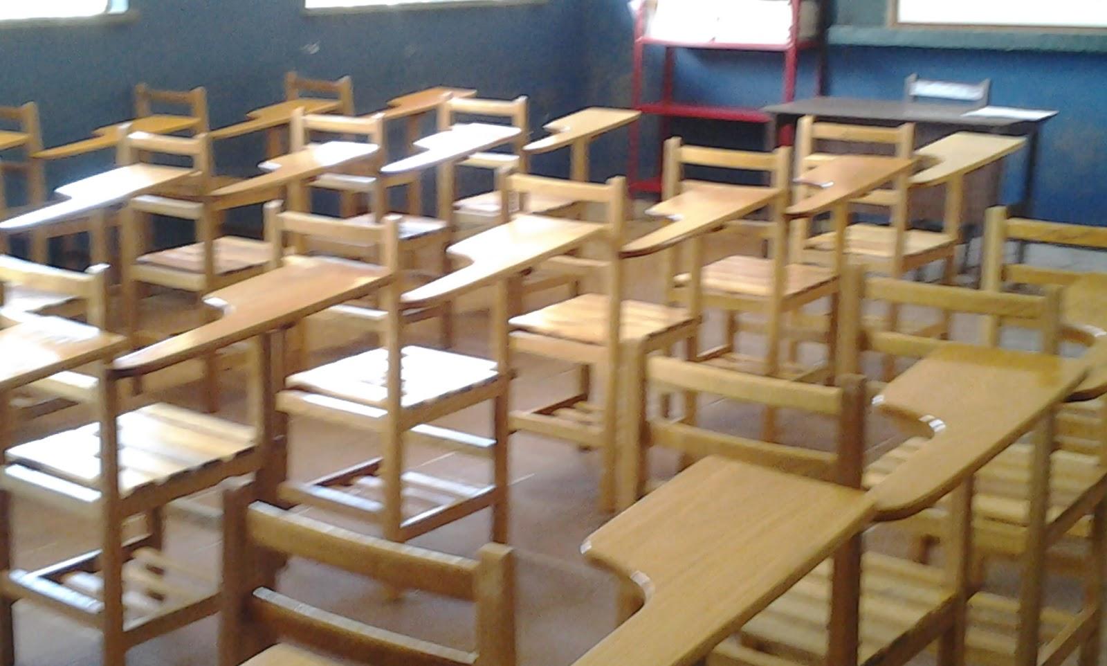 em madeira e MDF: Carteira escolar com reaproveitamento de madeira #9A6A31 1600x962