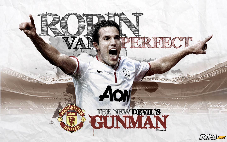 Robin Van Persie - Manchester United MU - Wallpaper Sepakbola Terbaru ...