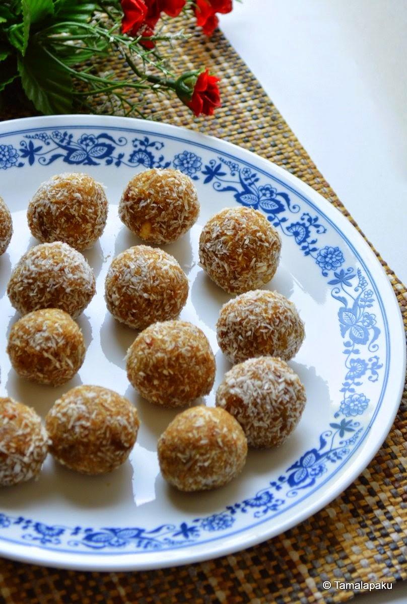 Vegan Quinoa Dates Laddu