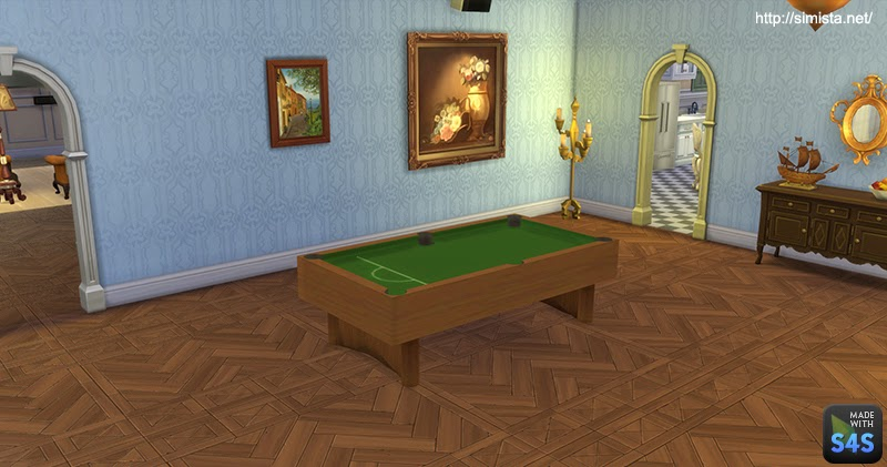 Decorative Pool Table By Mr S
