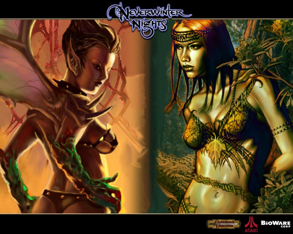 Neverwinter Nights HD & Widescreen Wallpaper 0.959749560579874