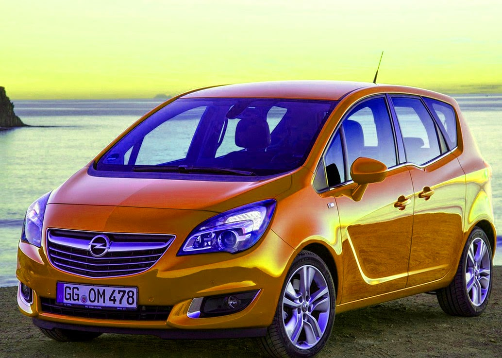 Photos Of Antique Cars And The Latest Opel Meriva 2014