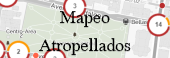 Mapeo atropellados