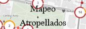 Mapeo atropellados