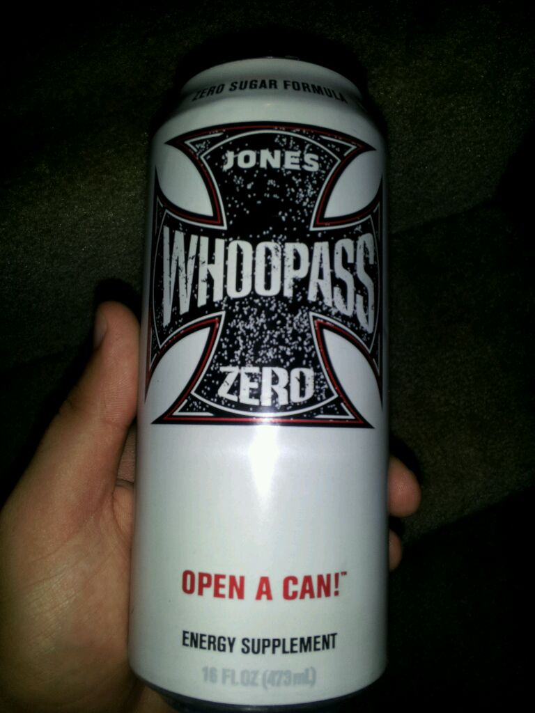 whoop ass energy drink