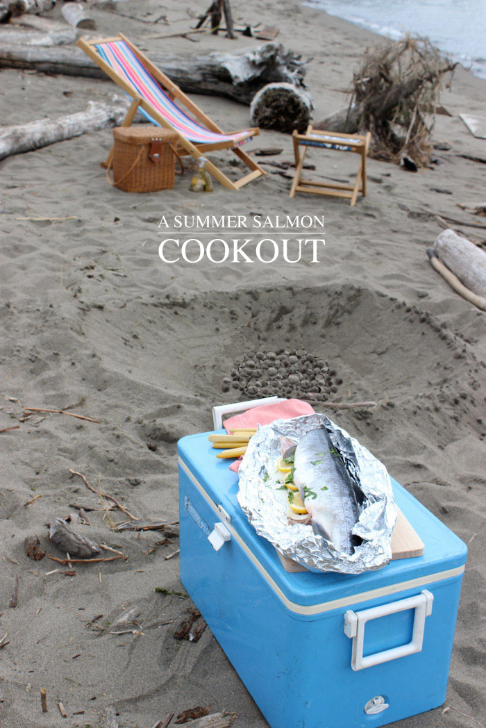 A Summer Salmon Cookout