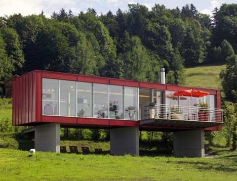 Small scale homes homes made from shipping containers - Cargo container home builders ...
