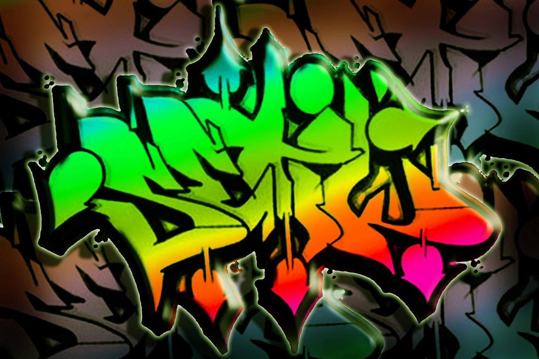 Graffiti Letters Spray Paint