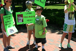 Kids at Lyme Protest in DC
