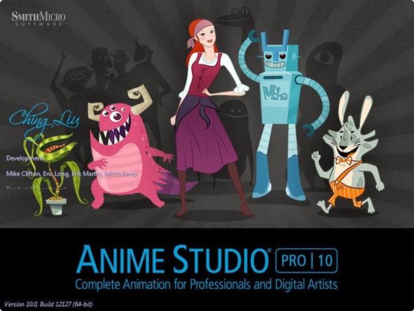 Anime Studio Pro Versión 10.1 Español