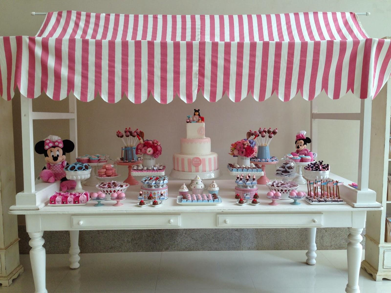 #8C3F54 Bella Fiore Decoração de Eventos: Festa Minnie Confeiteira 1600x1200 px Projeto Cozinha Confeitaria #2489 imagens