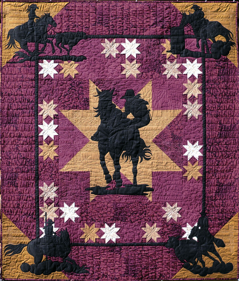 Quilt Inspiration Quilts Of The Wild West
