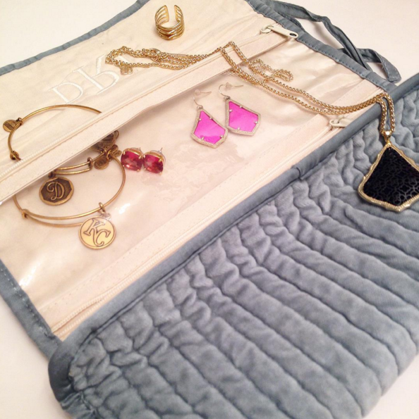 jewelry roll gift idea