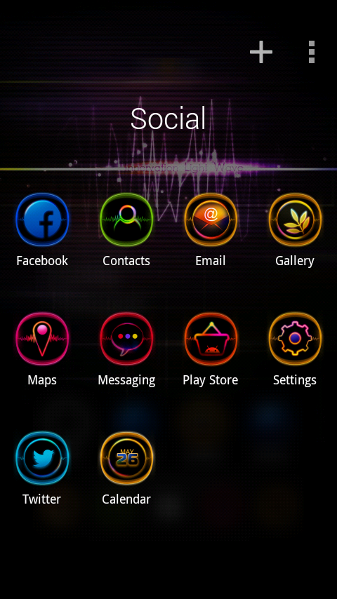 Light Wave Launcher | andromin