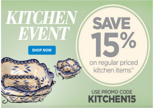 The Shopping Channel Kitchen Event Extra 15% Off Promo Code