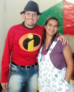 Zé e Maria -  Animação de Festa infantil.