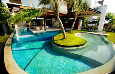 Modern luxury tropical house